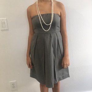 J CREU STRAPLESS DRESS